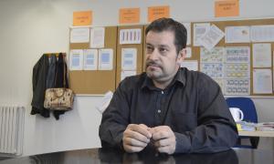 Òscar Fernández és el president del Col·legi de Psicòlegs.