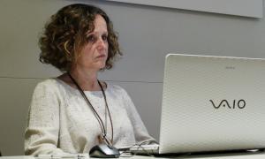 Pilar Escaler és la directora de la Cambra de Comerç.