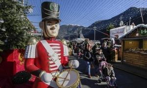 El mercat del Poblet de Nadal en l'edició de l'any passat.