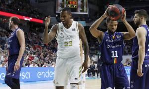 L'aler pivot del Reial Madrid, Trey Thompkins, el primer positiu ACB per Covid-19.