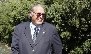 El representant dels pensionistes al consell d'administració de la CASS, Jacint Risco.