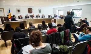 El darrer consell de Comú que s'ha celebrat a Andorra la Vella, dimecres passat.