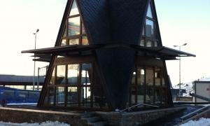 La caseta de turisme del Pas de la Casa que es vol enderrocar.