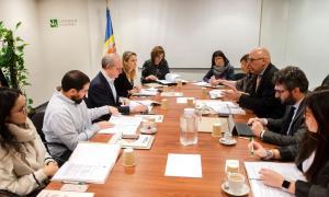La reunió del Consell universitari per l'elecció del rector es va celebrar ahir al matí.