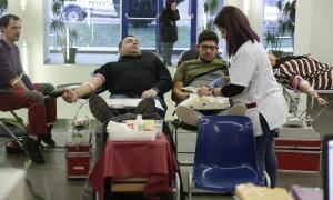 Moment de la darrera campanya de sang al país.