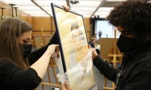Subhasta organitzada pel Museu Carmen Thyssen en favor d'Unicef.