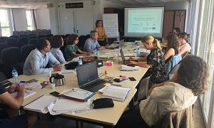 Reunió de coordinació dels socis del projecte Tr3s local a Perpinyà.