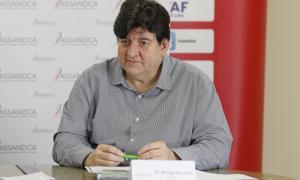 El president de l'Associació Andorrana Contra el Càncer, Josep Saravia.