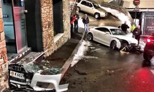 Dues persones ferides en dos accidents de circulació a Andorra la Vella