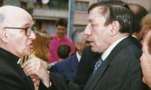 El copríncep Martí i Antoni Morell, a mitjans anys 90.