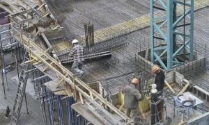 Operaris del sector de la construcció en una imatge d'arxiu.