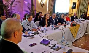 Un moment de la sessió inaugural de la Reunió iberoamericana de ministres i altes autoritats d'Educació Superior de l'Havana.