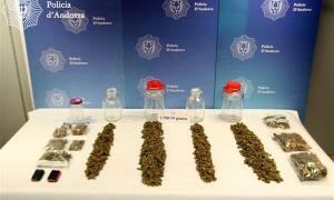 L'home va ser detingut el gener del 2017 i se li van requisar més d'1,6 kg de marihuana.