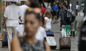 L'ocupació mitjana de l'estiu baixa un 4,56% respecte la de l'any passat.