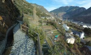 Vista del Rec del Solà d'Andorra la Vella.