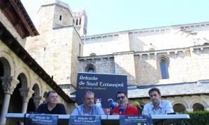 La presentació del 'Retaule de Sant Ermengol'.