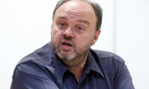 El secretari general de l'USdA, Gabriel Ubach.
