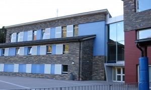 Les instal·lacions comunals que actualment ocupa el British College.