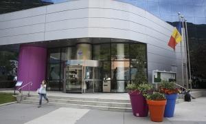 L'edifici del Comú d'Encamp.