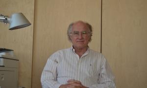 Ricard Lobo, delegat al Pirineu del Col·legi Oficial d'Arquitectes de Catalunya (COAC).