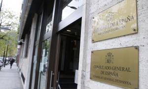 L'edifici que acull el Consolat espanyol.