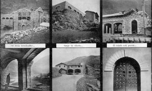L'edifici de Radio Andorra es va erigir entre el 1936 i el 1939: és possible que Trilhe sigui un dels figurants d'aquestes fotos d'època.