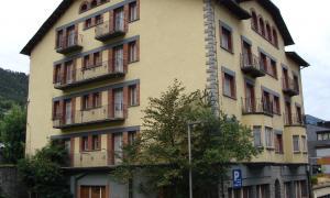 L'edifici de l'hotel Casamanya.