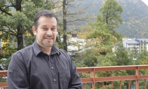 Òscar Fernández és president del Col·legi de Psicòlegs.