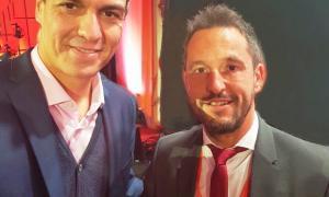 López amb Pedro Sánchez.
