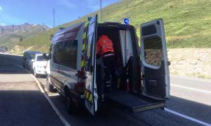El transport sociosanitari al Pas es va posar en marxa el mes de juliol passat.