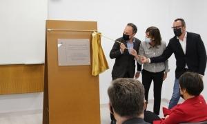 El cap de Govern, Xavier Espot, i la ministra Vilarrubla inauguren el centre, avui.