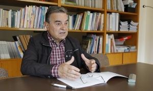 El president de Càritas Andorrana, Amadeu Rocamora.