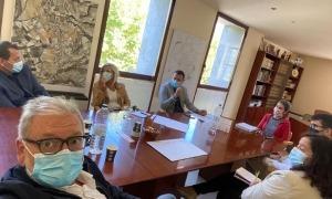 Una imatge de la trobada a Oliana.