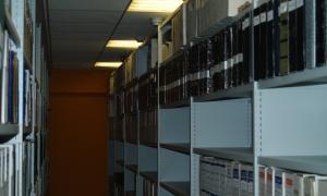 El dipòsit de l'arxiu del Comú de Canillo guarda uns 3.000 documents pertanyents a fons històrics.