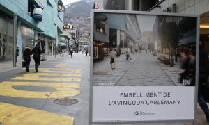 Les obres de Carlemany costaran 800.000 € més del pressupostat