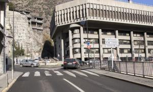 El carrer Doctor Vilanova d'Andorra la Vella.