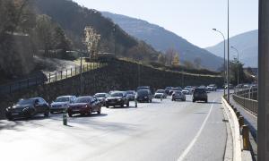 L'ocupació arriba al 80% a la zona central en la segona part del pont