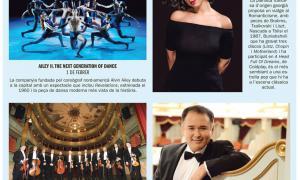 Andorra, centre de Congressos, Marc Pons, Temporada de Música i Dansa, MoraBanc, Khatia Buniatishvili, Ailey II, Alvin Ailey, Filharmònica de Berlín, Javier Camarena