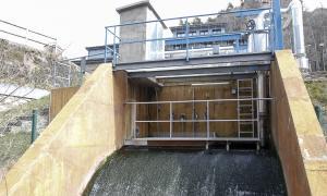 Depuradora d'aigua d'Anyós a la Massana.