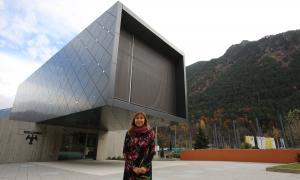 La candidata d'En Comú per Andorra la Vella, Conxita Marsol.