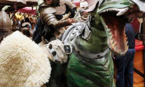 El mercat medieval oferirà els espectacles al parc del Cadí