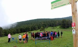 La trobada Canillo-Ordino aplega unes 150 persones
