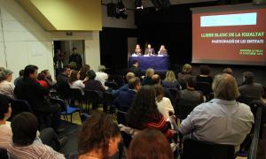 El Llibre Blanc de la Igualtat es basarà en el PANI del 2010