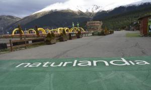 Les instal·lacions de la cota 1.600 de Naturlàndia.