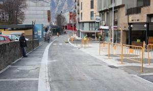 Les obres de l'avinguda del Fener avancen segons el previst
