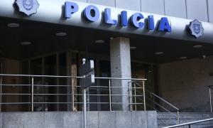El despatx central de la policia.