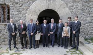 Visita de parlamentaris de Mònaco i San Marino per parlar de la UE Visita de parlamentaris de Mònaco i San Marino per parlar de la UE