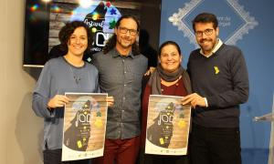La presentació de la tercera edició del Festival del Joc del Pirineu.