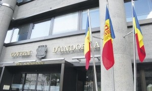 Façana de l'edifici administratiu de Govern.