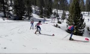 Tuixent-La Vansa, una de les estacions de nòrdic de l'Alt Urgell, va acollir també durant el cap de setmana una competició, amb uns 200 participants.